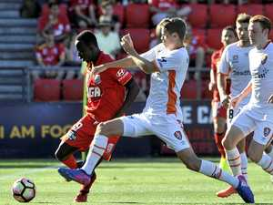 Reds row ruins win over Roar