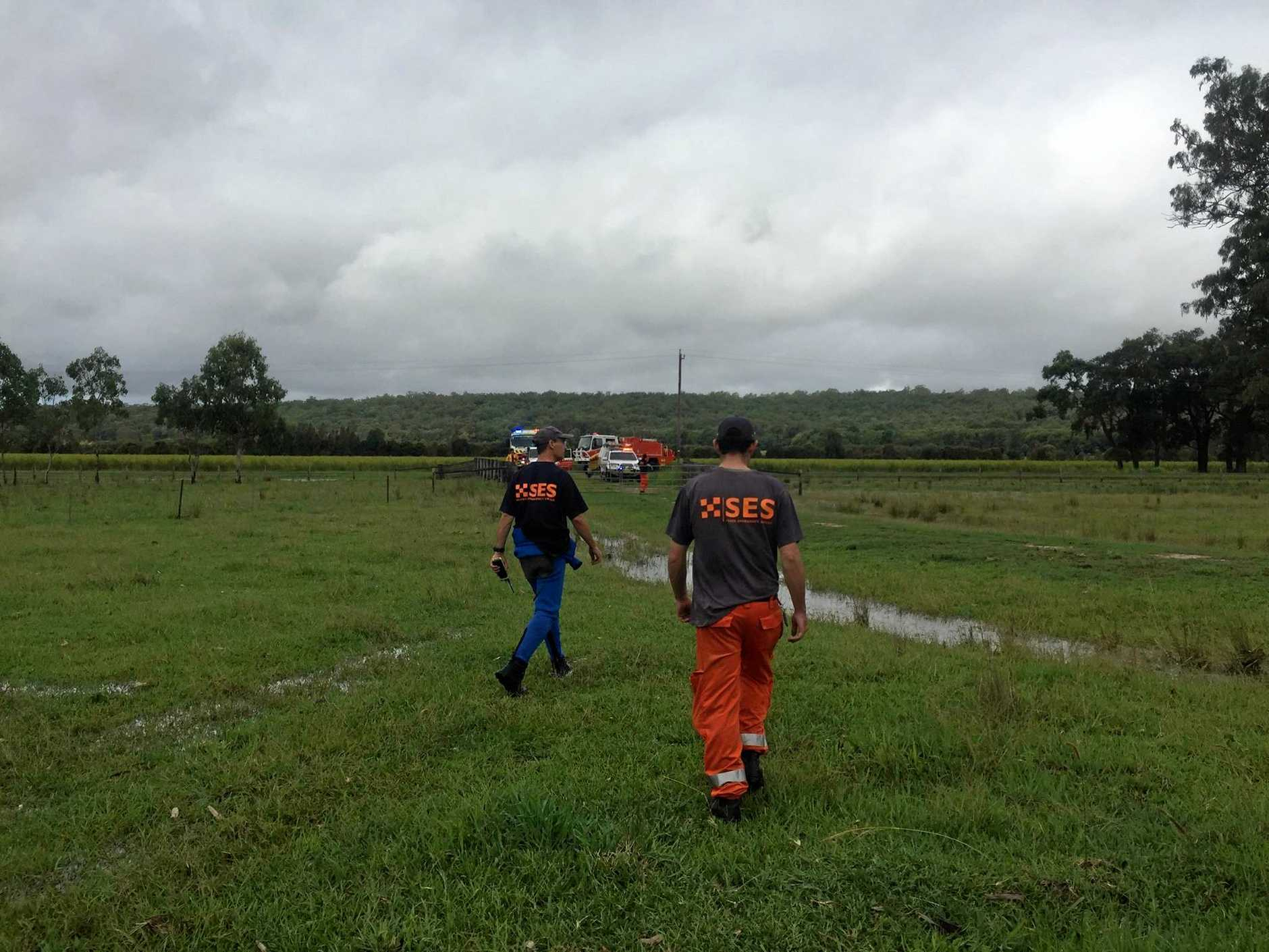 SES Lismore crews attended to more than a dozen rescues over the weekend.