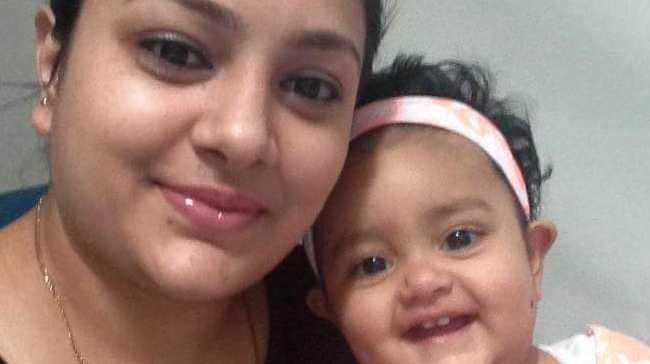 Sanaya Sahib, 14 months, with her mother Sofina Nikat who lawyers argue is guilty of infanticide. Picture: Supplied Source:Supplied