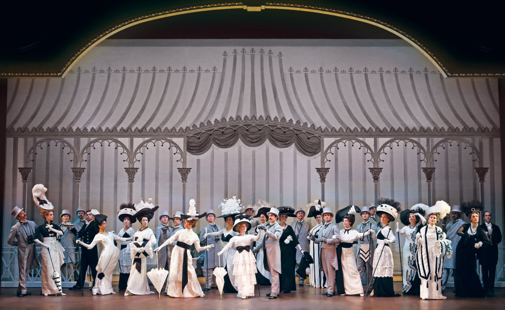 A scene from the musical My Fair Lady.