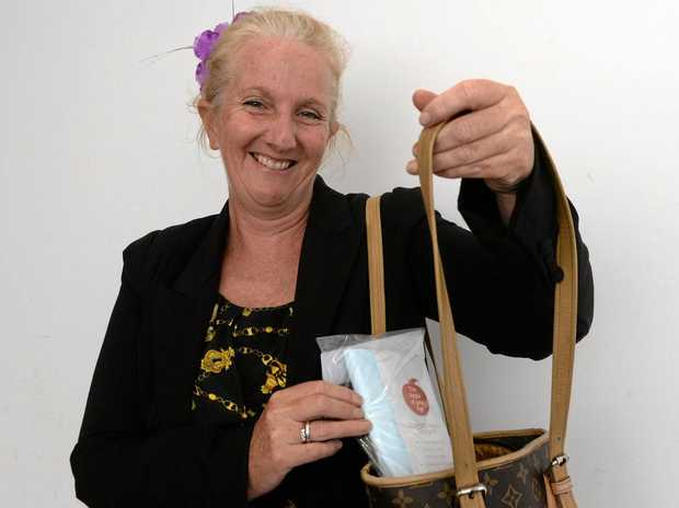 BUSINESS GROWS: Lisa Thompson's products are now stocked in NZ and Australian airports.