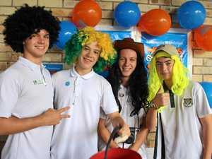 Tweed River High School's Shave for a Cure