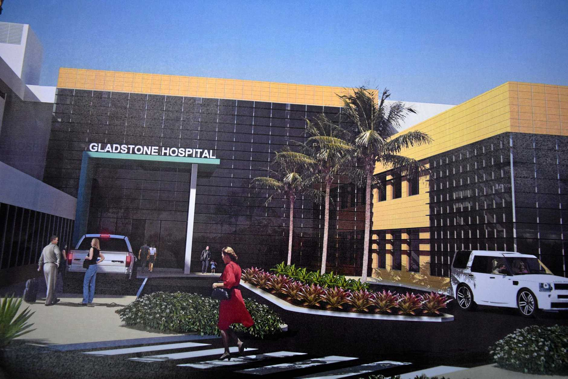 Artist impressions have been released of what the future Gladstone Hospital could look like with a $42m upgrade.