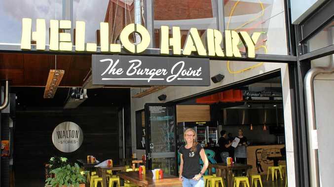 FORTUNATE FRANCHISEE: Hello Harry Toowoomba manager Jaime Thomas.