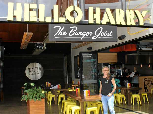 FORTUNATE FRANCHISEE: Hello Harry Toowoomba manager Jaime Thomas.