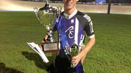 Sam Horan won the 50th Rocky Cup on Wheels.