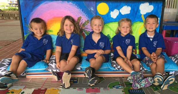 Bonalbo Central School: Just one of the kindergarten photos to be featured in the My First Year liftout in The Northern Star on Wednesday.