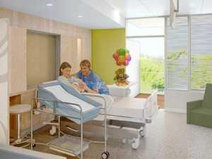 Take a tour of new Coast hospital's maternity wards