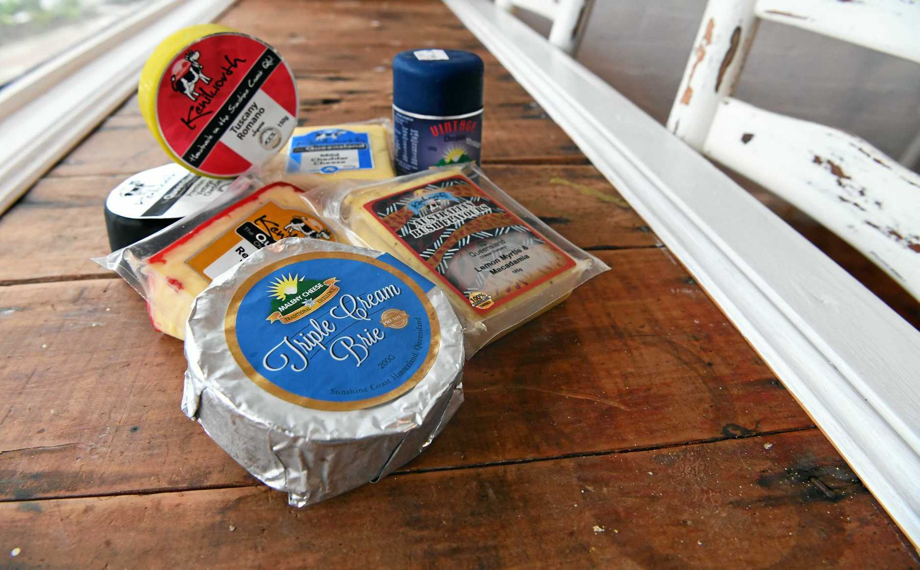 Peterand Rosa Eschbach have opened the Cane Fire Cheese House in Childers.