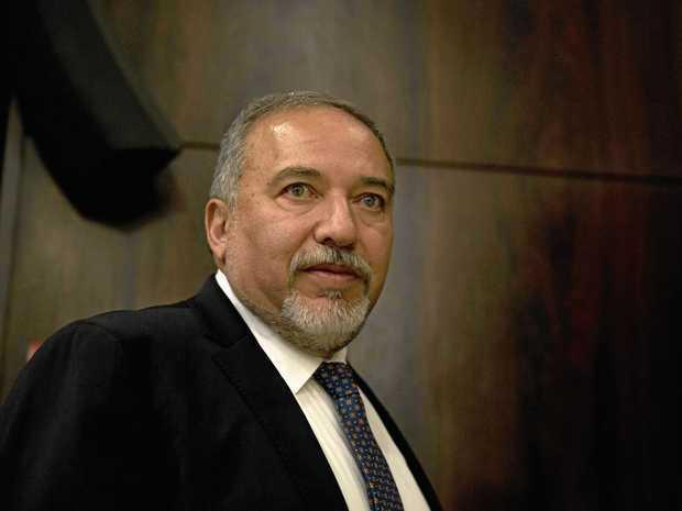 Israeli Defense Minister Avigdor Lieberman.