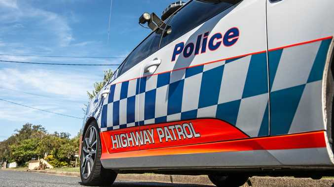NSW police highway patrol car.