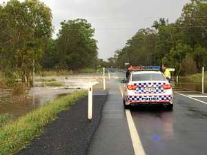 Booral Rd reopens following closure due to floodwaters