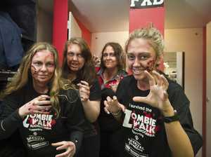 Zombies ready to take over Toowoomba