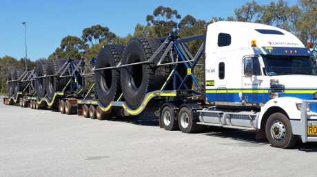 Heavy machinery tyres require specialist haulage services from Centurion.