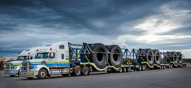 PILOT FREE: Centurion's innovative tyre trailer for when you need to carry big rubber.