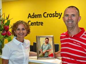 Adem's mum is new hospital's first cancer patient