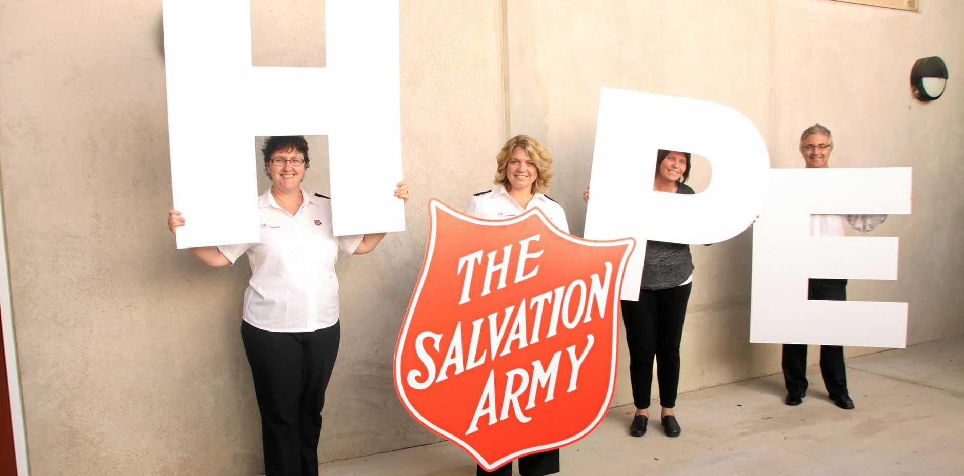 The Salvos  Red Shield Appeal