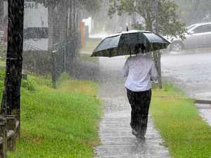 Recent wet weather in Mackay