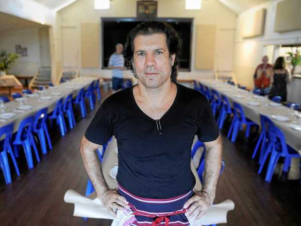 DINING: Argentinean chef Francisco Smoje, of Francisco's Table, is taking his table outdoors this Sunday, with a 'lunch in the paddock' at Mullum Showgrounds.