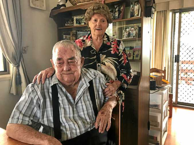 Richard and Frieda Steel will celebrate 60 years of marriage next month.
