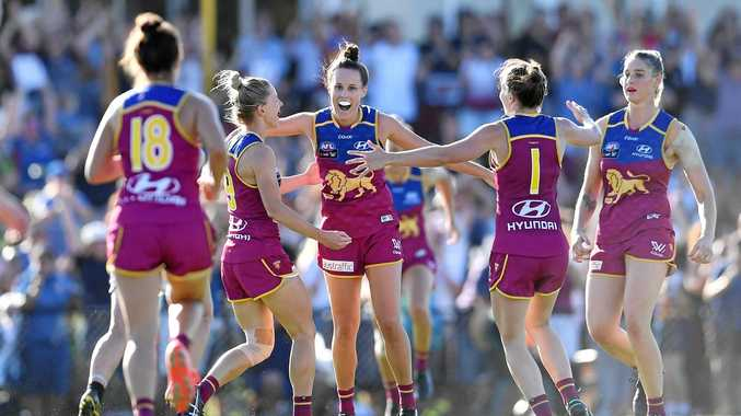 GOLD COAST BOUND: The AFLW decider between Brisbane Lions and Adelaide Crows will be moved to Gold Coast's Metricon Stadium.