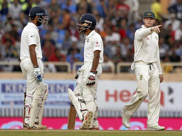 Steve Smith says Australia holds the momentum in Test series.