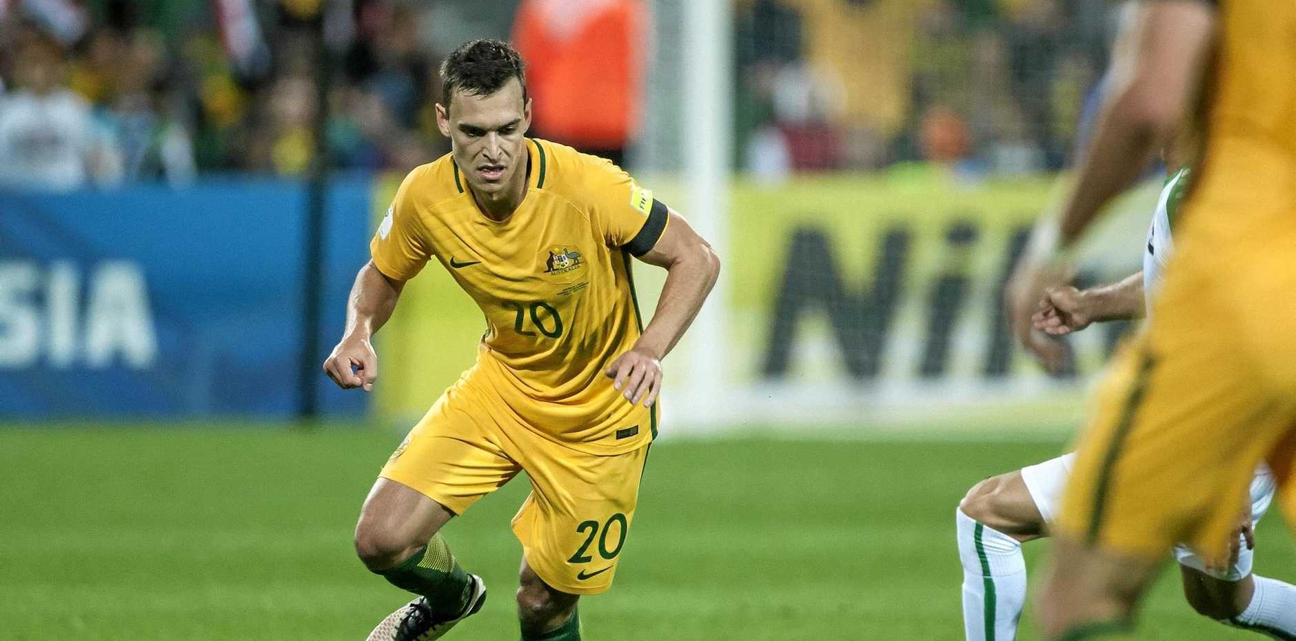 Trent Sainsbury is hoping to get a Socceroos call-up for Thursday's World Cup qualifier in Tehran against Iraq.