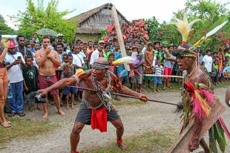 PNG villages turned out in force for the Kumul PNG Longboard World Championship event in Tupira setting record crowds for the WSL event.