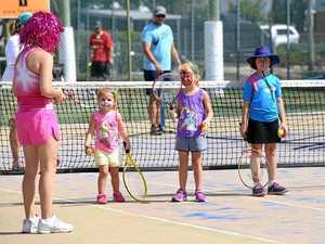 Bundaberg Junior Tennis Club day