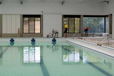 DATE SET: The Gympie Aquatic Recreation Centre is set for opening on April 1.