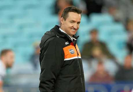 Sacked Tigers coach Jason Taylor.