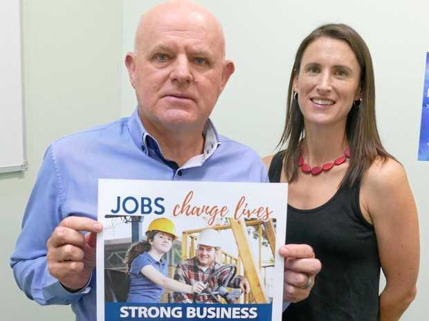 CHESS CEO Paul Kelly and Headspace Coffs Harbour manager Shelley Rowe are working on a campaign to bring the youth mental health program Headspace to Grafton earlier than planned.
