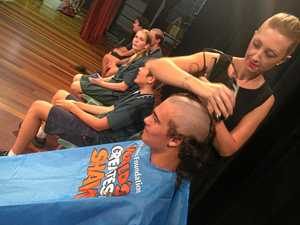 Cool cuts turn curls into cash for World's Greatest Shave