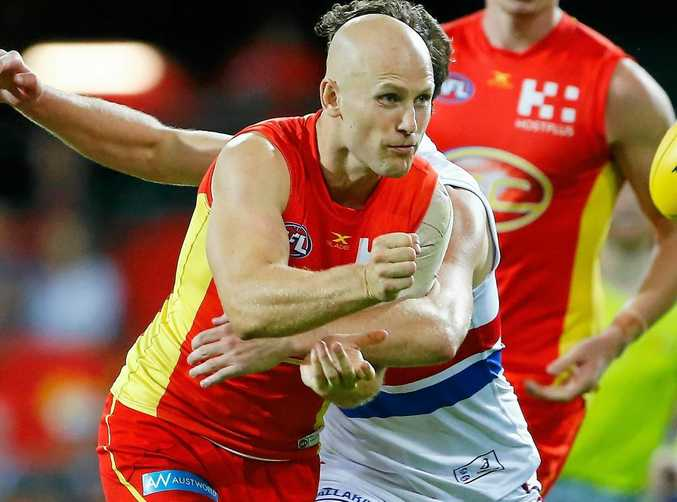 Gold Coast superstar Gary Ablett has been plagued by injuries in recent seasons.