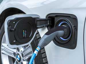 New service station with electric car chargers planned