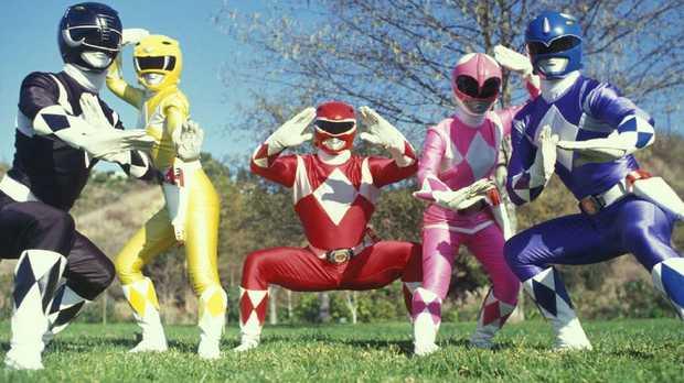 The original Power Rangers