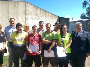 Smiles all round as students graduate from Lifeline course