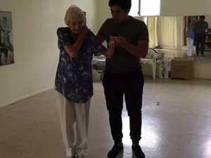 Gwen Coyle 99-year-old dance teacher