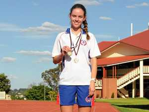 Young runner blitzes rest of the field to earn two gold medals