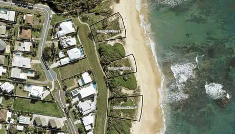 PLANS: Residents are pushing for some changes to sand dune vegetation at Shelly Beach.