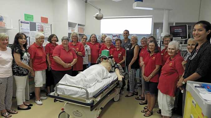 LIFESAVERS: Members of the Byron Bay Hospital Auxiliary have been recognised for their fundraising efforts to buy lifesaving equipment and children's play centre at the Byron Central Hospital.