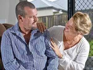 'Hand in hand': Family's shock double cancer diagnosis