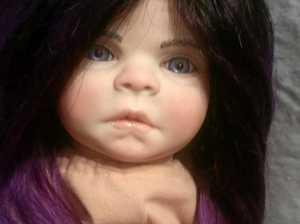 Life-like vampire Reborn dolls by Lismore artist