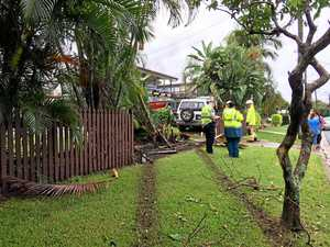 WATCH: Drivers warned after 4WD ploughs through fence