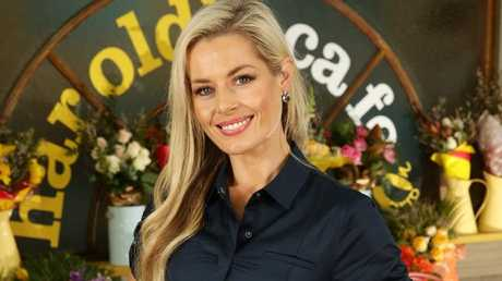 Madeleine West returned to Neighbours after 13 years.