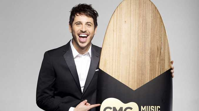 Morgan Evans hosts the 2017 CMC Music Awards, being held for the first time on the Gold Coast.
