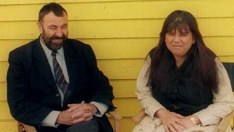 Peter Shellard and Shirley Withers: the girlfriend who became his killer. Picture: News CorpSource:News Limited
