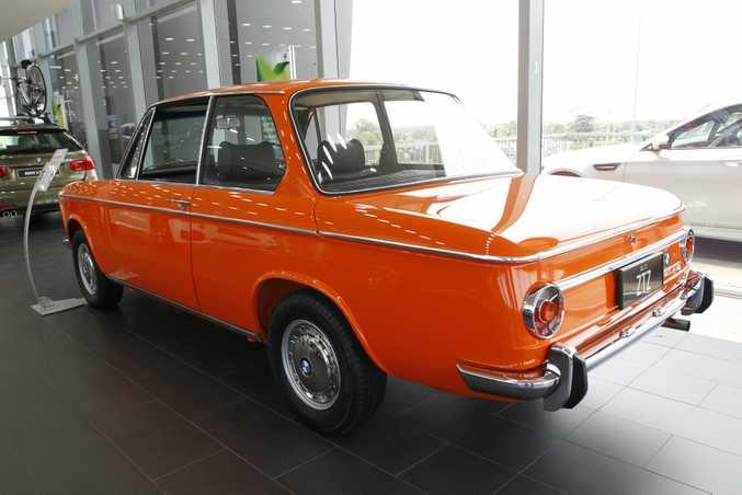 Coastline BMW's 1971 BMW 2002 Coupe.