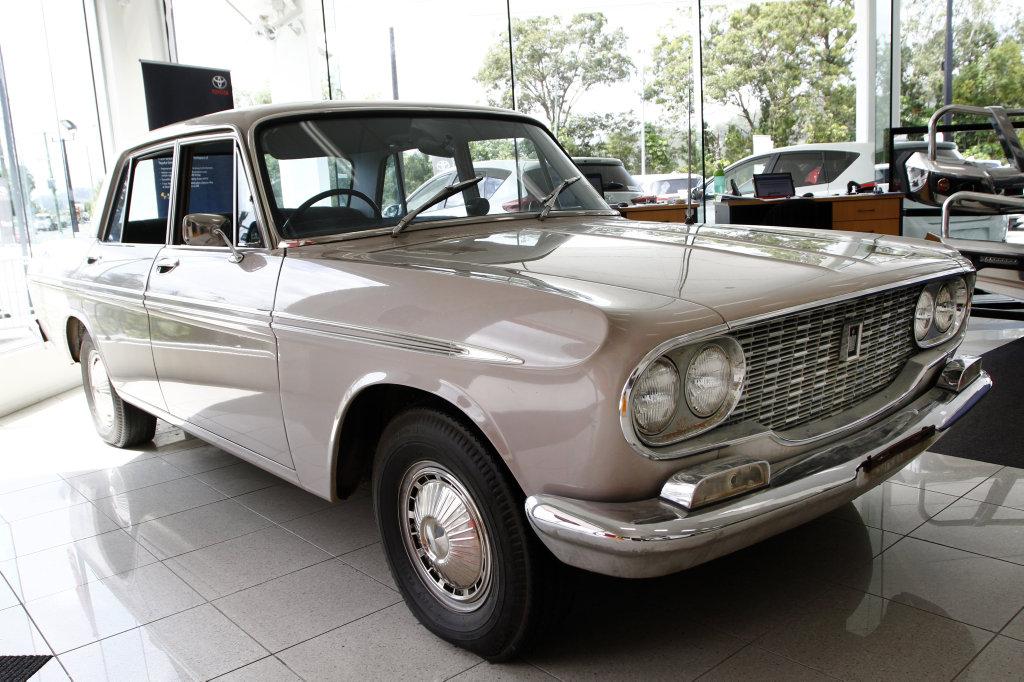Ken Mills Toyota Nambour's 1964 Toyota Crown Deluxe