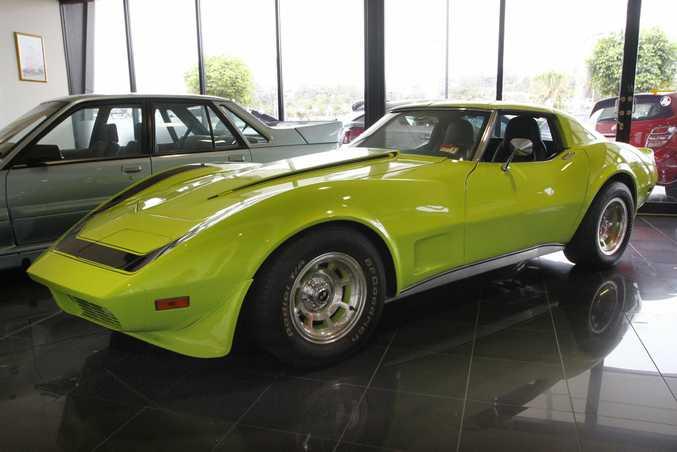Sunco Holden Maroochydore's 1973 Chevrolet Corvette Stingray.